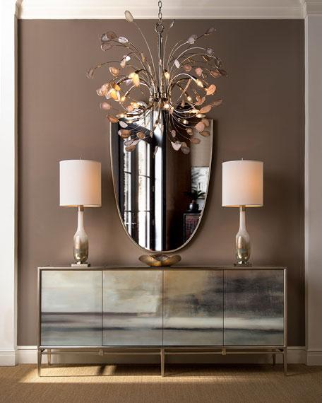 John-Richard Collection Hand-Blown Golden Table Lamp