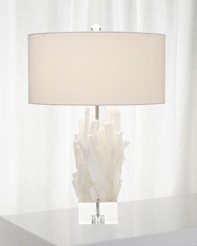 Selenite Table Lamp II