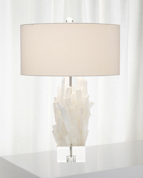 Selenite Table Lamp II