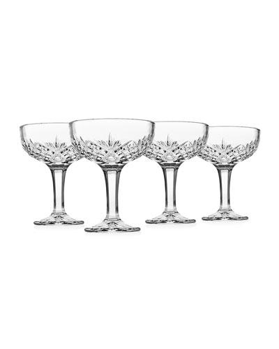 Dublin Coupe Glasses, Set of 4