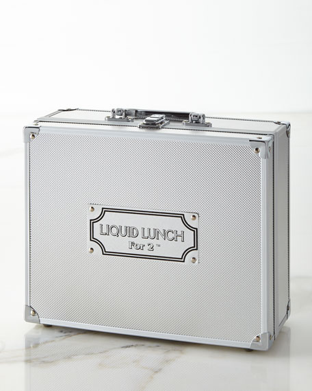 Godinger Liquid Lunch For 2 Bar Tools Set