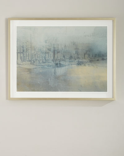 Amsterdam Handmade Framed Print Wall Art by Carol Benson-Cobb