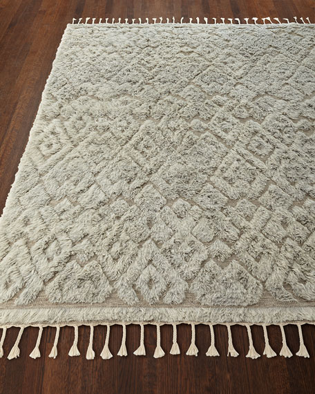 Berke Hand-Loomed Rug, 9.3' x 13.5'