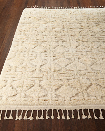 Chance Hand-Loomed Rug, 5.5' x 8.5'