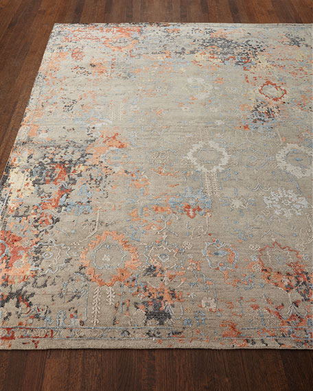 Jenzyn Hand-Knotted Rug, 10' x 14'