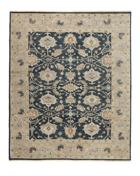 Estevan Hand-Knotted Oushak Rug, 5' x 7'
