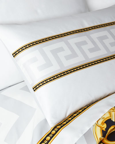 Greek Key Pillowcase