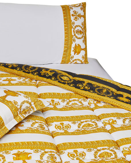 Greek Key Comforter