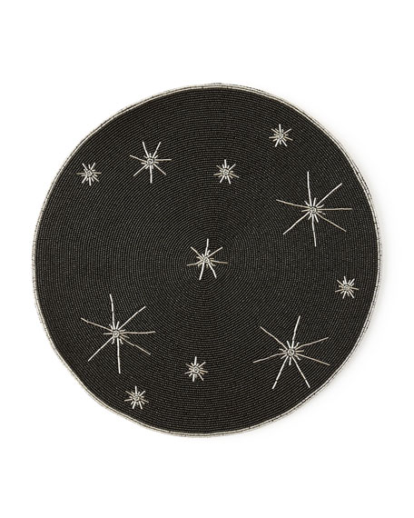 Beaded Star Placemat