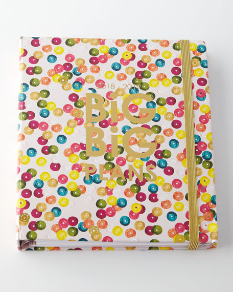 Packed Party 2018-2019 BIG BIG PLANS Agenda Planner