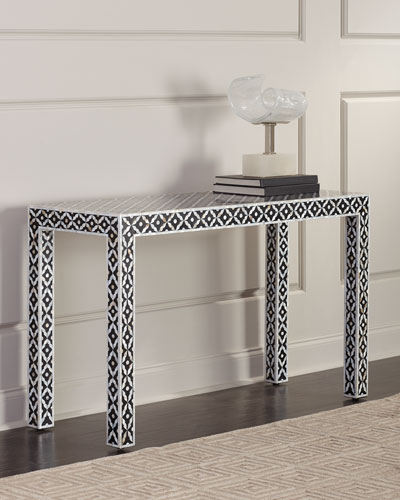 Evie Mother-of-Pearl Console