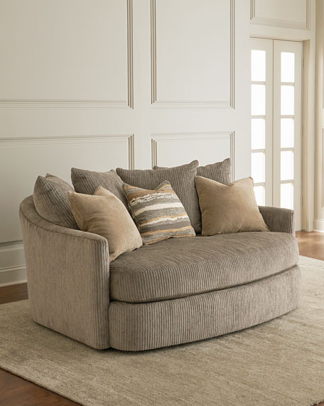 Sheryl Curved Settee