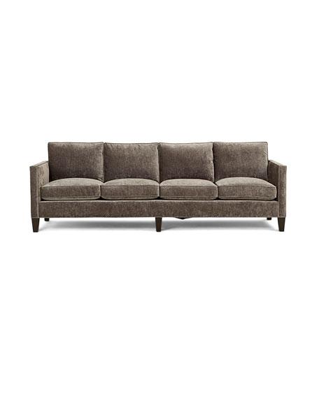Jackie Crushed Velvet Sofa