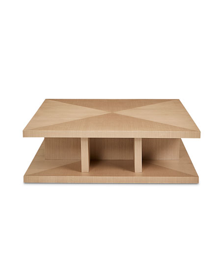 Marcie Sisal Square Coffee Table