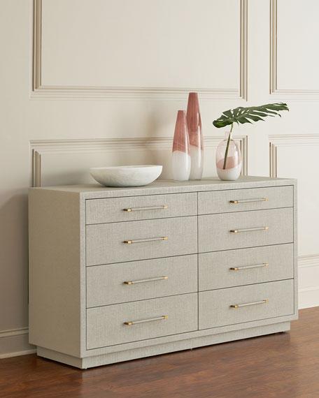 Robyn 8-Drawer Dresser, Gray