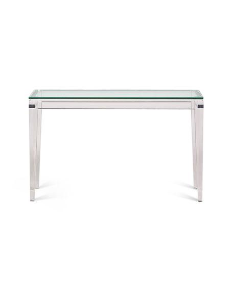 Teighlor Acrylic Console Table