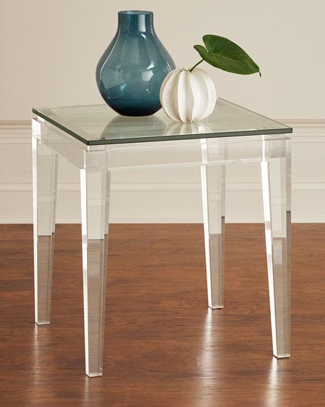Teighlor Acrylic Side Table