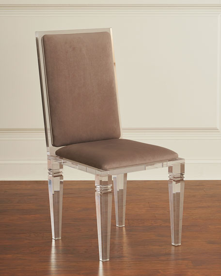 Nora Acrylic Dining Side Chair