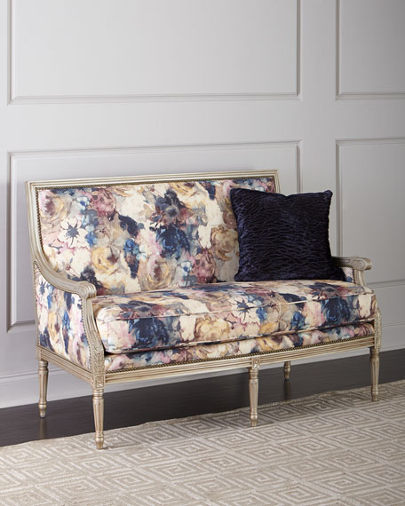 Massoud Windsor Floral Settee