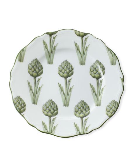 Touraine Artichoke Dessert Plate