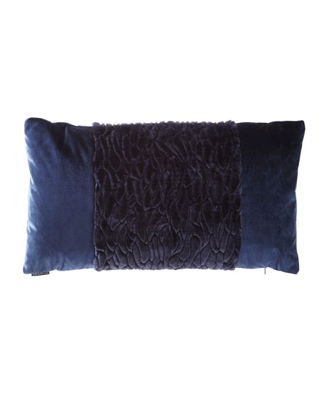 D.V. Kap Home Callard Band Velvet Pillow and
