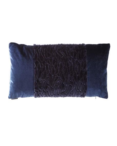 D.V. Kap Home Callard Band Velvet Pillow and