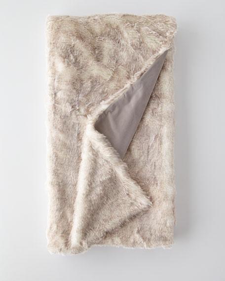 Damien Faux-Fur Throw
