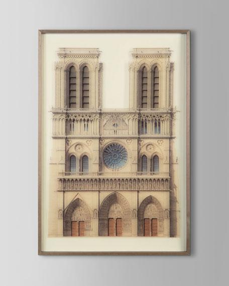 """""""Notre Dame de Paris"""" Giclee Wall Art"""