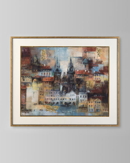 """""""Benoni's Cathedral"""" Giclee Art"""