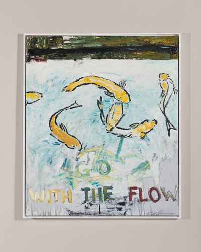 Go With The Flow Giclee Art