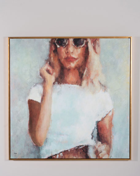"""""""The Look"""" Giclee Wall Art by Nava Lundy"""