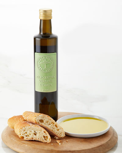 Le Ferre Mild Extra Virgin Olive Oil Bottle with Decorative Ceramic Tile