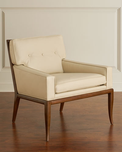 Gilley Leather Lounge Chair