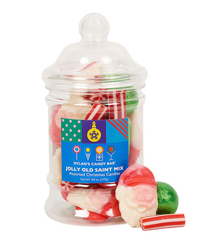 Mini Christmas Apothecary Jar