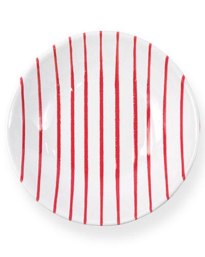 Striped Pasta Bowl
