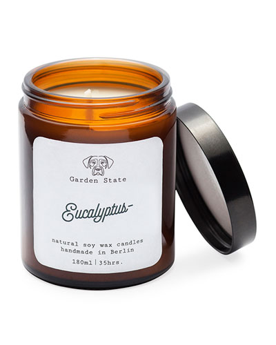 Eucalyptus Scented Soy Wax Candle