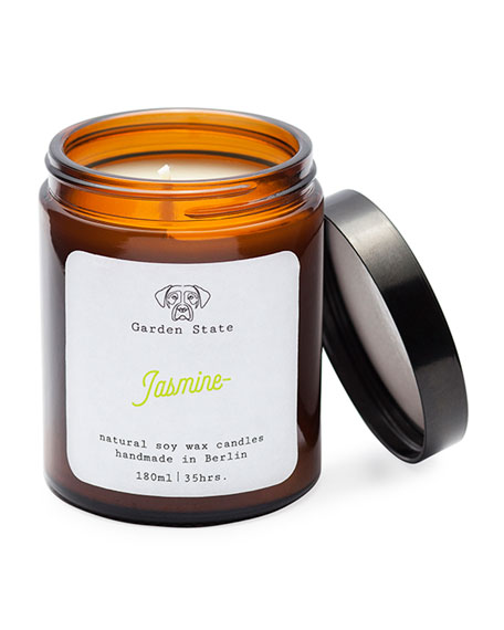 Garden State Jasmine Scented Soy Wax Candle