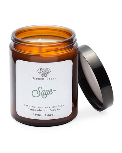 Sage Scented Soy Wax Candle