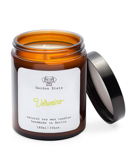 Garden State Verveine Scented Soy Wax Candle