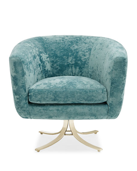 "Twirl Around Swivel Chair, 21"""