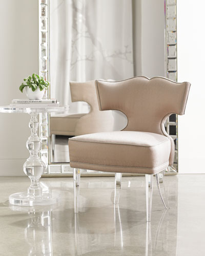 Facet-Nating Accent Chair
