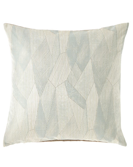 Eastern Accents Facet Ice Decorative Pillow and Matching