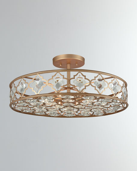 Armand 8-Light Semi-Flush Mount