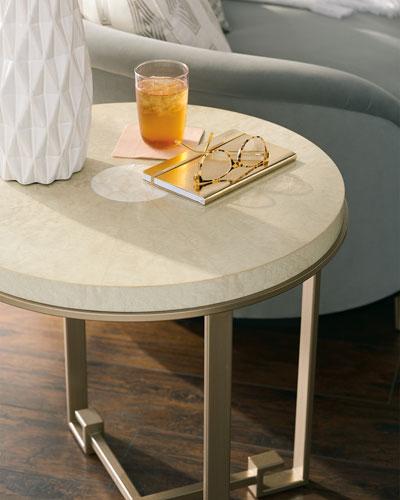 Shell Eye End Table