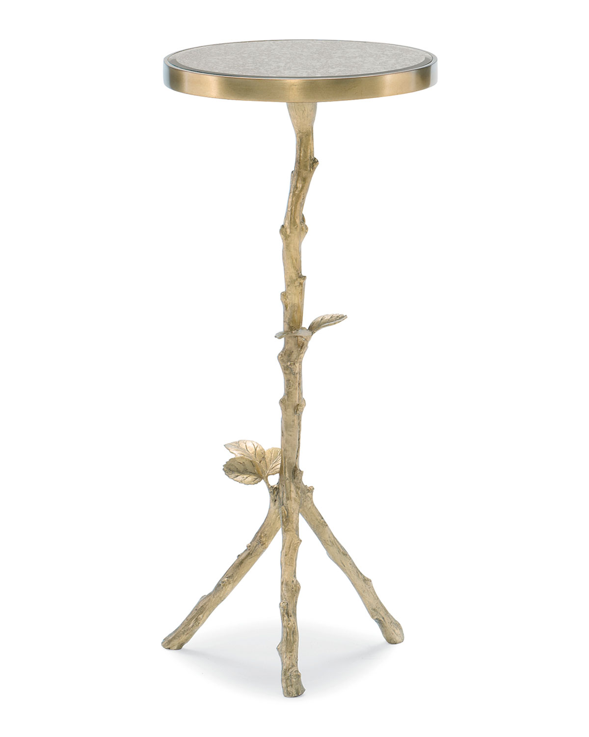 Sticks And Stones Petite Accent Table by Caracole