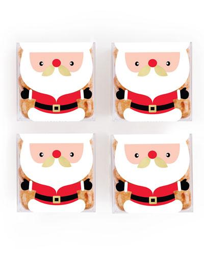 Santa Gingerbread Cookie Bites Bundle, Set of 4