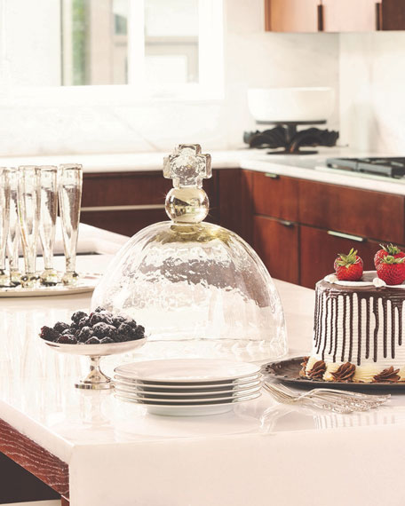 Basilica Platter & Glass Cover
