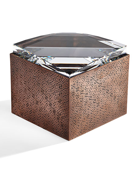 Medium Copper Resin Box
