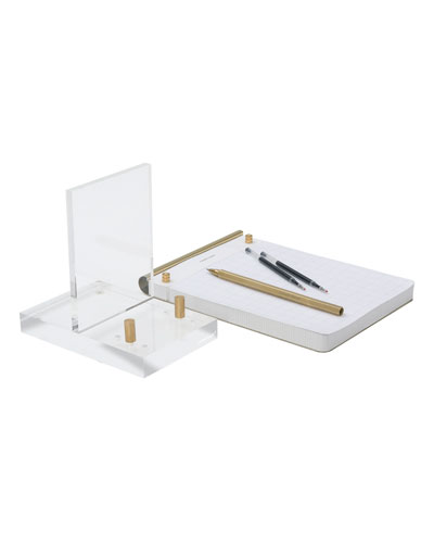 Brass Desk Accessory Bundle