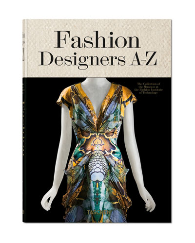 Fashion Designers A-Z Book